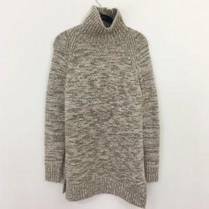 Zara Knit Turtleneck Dress